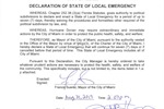 Declaration of State of Local Emergency Page 1.jpg