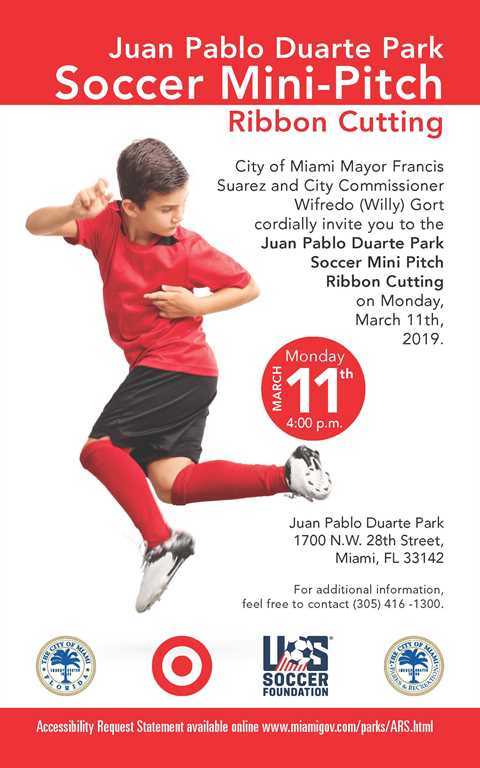 Juan Pablo Duarte Park Soccer Mini Pitch Ribbon Cutting 03.11.19.jpg