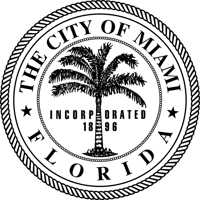 city seal black and white