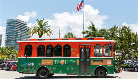 City of Miami Trolley Tracker