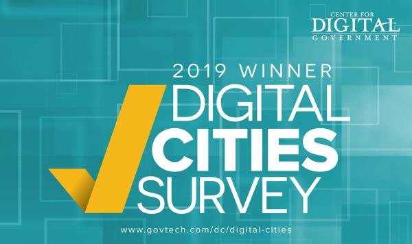 Digital Cities 2019 Award Winner Image