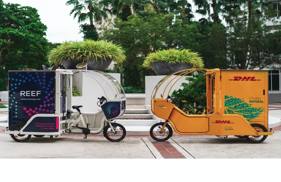 Pilot Program to use Ecofriendly Cargo Bikes for Deliveries in Downtown Miami