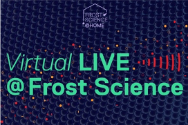Virtual LIVE @ Frost Science Logo